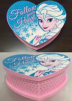 """Шкатулка муз """"Frozen"""" с зеркалом, кор. 19.5*17*17.3см /48-2/(6032F)"""