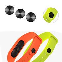 Пряжка черного пояса Mi-jods для браслета Xiaomi Miband 2 Smart Wristband Wrapband