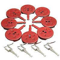BIKIGHT 4 пары велосипедные велосипедные дисковые тормозные колодки для Avid BB5 велосипедные диски