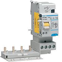 Блоки УЗО к автоматическим выключателям до 63А