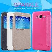 Чехол ТМ Nillkin Sparkle для Samsung Galaxy J5 J500 черный