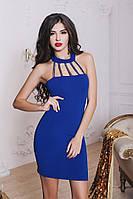 Коктельное платье с чокером 467 Марго