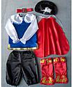 Детский карнавальный костюм для мальчика Кот в сапогах, фото 4