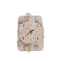 Случайная поставка DIY деревянные часы животных изображения детские развивающие игрушки для детей подарок на день рождения