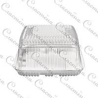 Прозрачная коробка для торта прямоугольная 350x250x120см