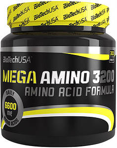 Аминокислоты BioTech Mega Amino 3200 300 tabs