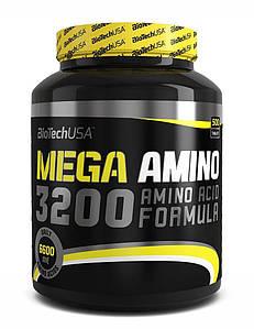 Аминокислоты BioTech Mega Amino 3200 500 tabs