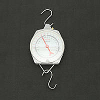 Висячие весы Механический металл с крючком 25кг для лабораторного дома