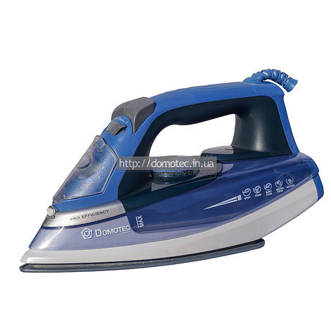 Утюг DT 1007 голубой распродажа