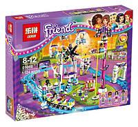 Конструктор Lepin 01008 Friends Парк развлечений: Американские горки (аналог Lego Friends 41130)