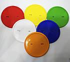Заготовка для значков круглой формы. Цвет синий. Диаметр фото 50 мм, фото 4