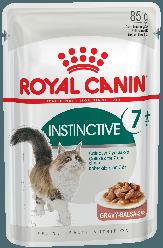 Royal Canin (Роял Канін) INSTINCTIVE 7+ вологий корм в соусі для кішок старше 7 років, 85 г