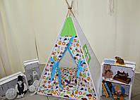 """Детский игровой домик, вигвам, палатка, шатер, шалаш """"Летний денёк"""""""