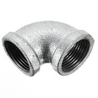 3/4 дюйма Внутренний диаметр Черное соединение железных труб 90 градусов Угловое соединение из чугуна с чугунными трубами