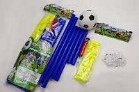 Футбольные ворота в сумке , мяч , насос 60*19*3см