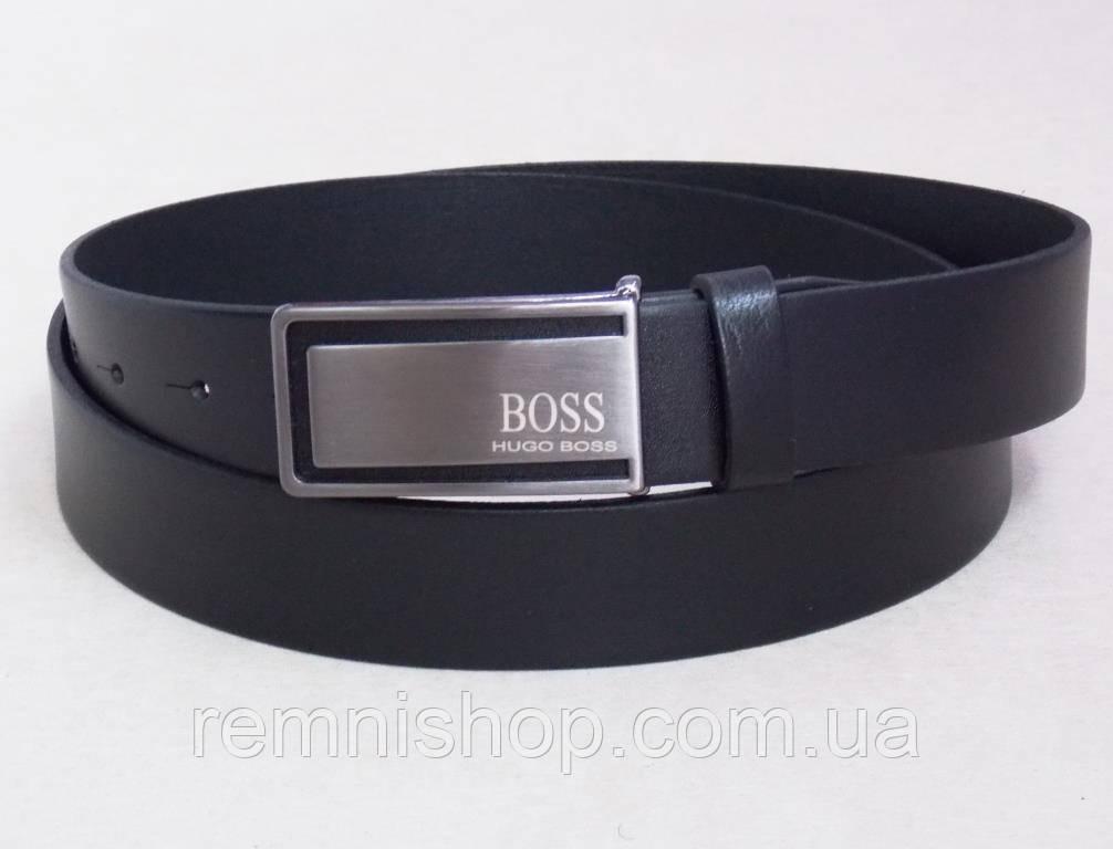 165dbc6b94ef Брючный ремень кожаный Hugo Boss мужской