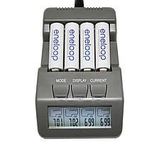 BT-C700 ЖК-дисплей Цифровой смарт-NiCd NiMh AAA 16340 RCR123 14500 AA Разрядник зарядного устройства AA