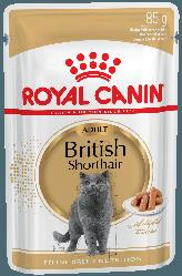 Royal Canin (Роял Канін) British Shorthair adult вологий корм для британських котів старше 1 року, 85 г