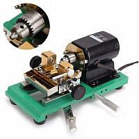 Raitool ™ 110V 320W Перламутровый сверлильный станок Буровая установка Бусины Изготовление ewelry Punch Инструмент