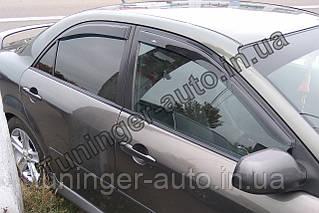 Ветровики, дефлекторы окон Mazda 6  2002-2008