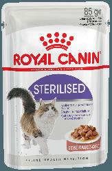 Royal Canin (Роял Канін) STERILISED вологий корм в соусі для стерилізованих кішок старше 1 року, 85 г