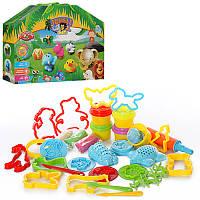 Пластилин Набор для детской лепки (детского творчества) ДжунглиMK 0687