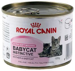 Royal Canin (Роял Канін) BABYCAT INSTINCTIVE мус для кошенят з народження до 4 місяців, 195г