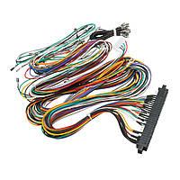 Проводка для проводки Кабельный комплект для сборки DIY для игрового автомата Jamma Board
