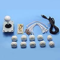 Game Console Board DIY Аркадный джойстик Аксессуары для панели управления USB Encoder