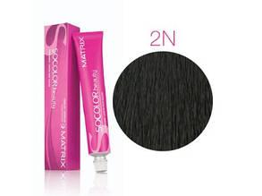 Matrix Socolor Beauty 2N черный, стойкая крем-краска для волос 90 мл