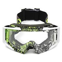 Мотокросс-шлем Прозрачные очки для гонок Анти-УФ-очки для мотоцикл Off Road ATV Quad Dirt Bike