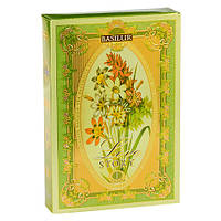 Чай зеленый Basilur Любовная история Том 1 75г картон