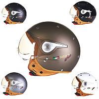 Мотоцикл ЕСЕ безопасности половина воздушные силы лицо шлем для Haley Веон б-110