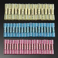 50Pcs PE Изолятор Коннекторы Термоусадочная пленка Трубка Изоляция обжимных клеммных комплектов
