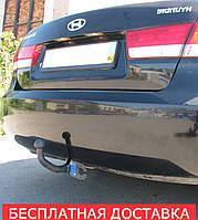 Фаркоп на Hyundai Sonata NF (2005-2010) Хундай Соната НФ