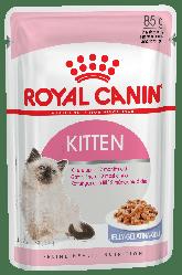 Royal Canin (Роял Канін) KITTEN INSTINCTIVE IN JELLY вологий корм для кошенят в желе з 4 до 12 місяців, 85г