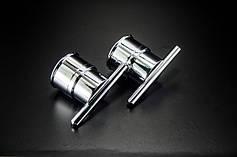 Ручки для стеклянных дверей душевых кабин и гидробоксов