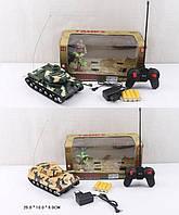 Танк аккумуляторный на р/у AKX520AB 2 вида, в коробке 25*10*8 см