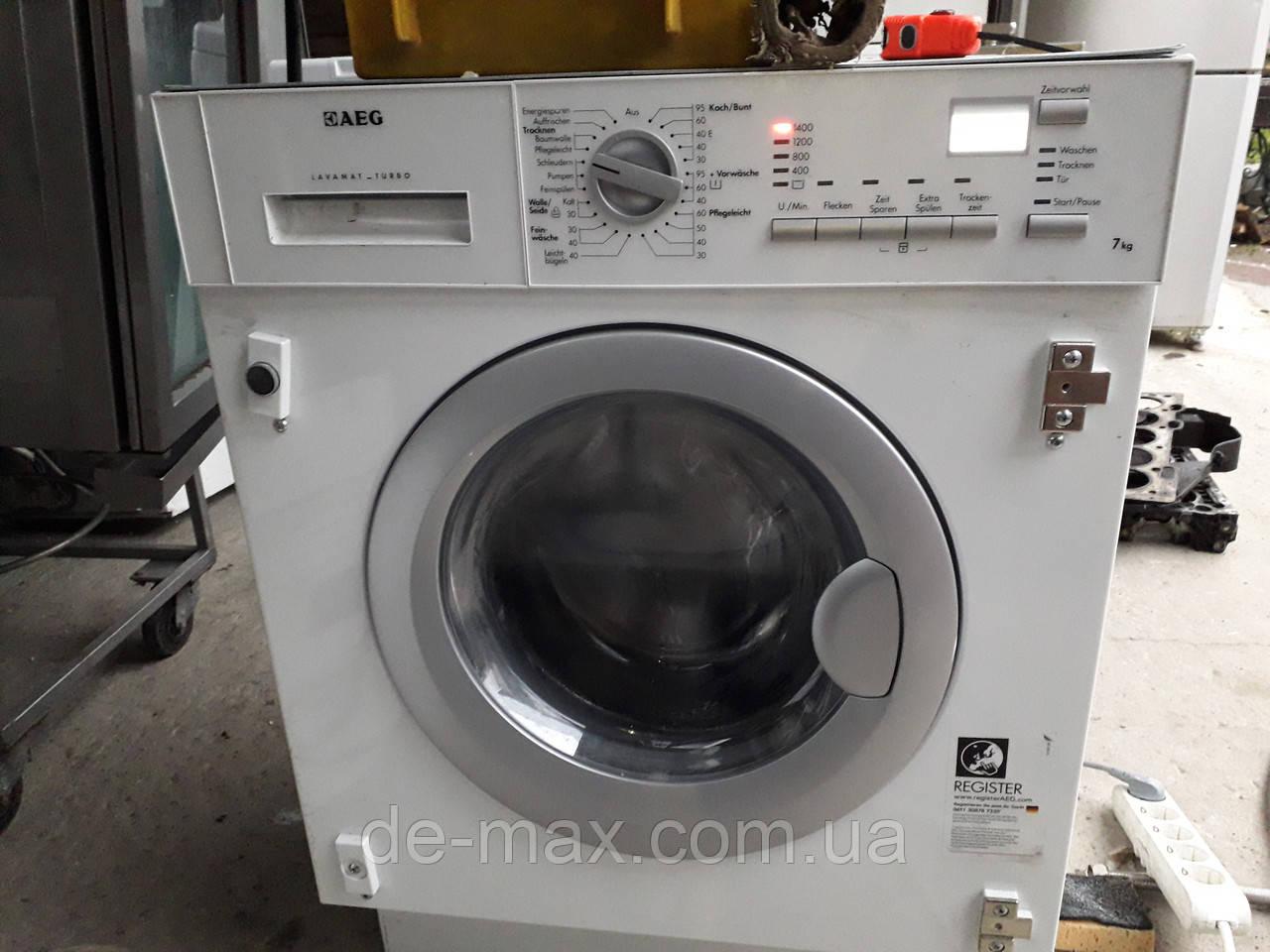 Стирально-сушильная машина встраиваемая AEG L 61470 WDBI