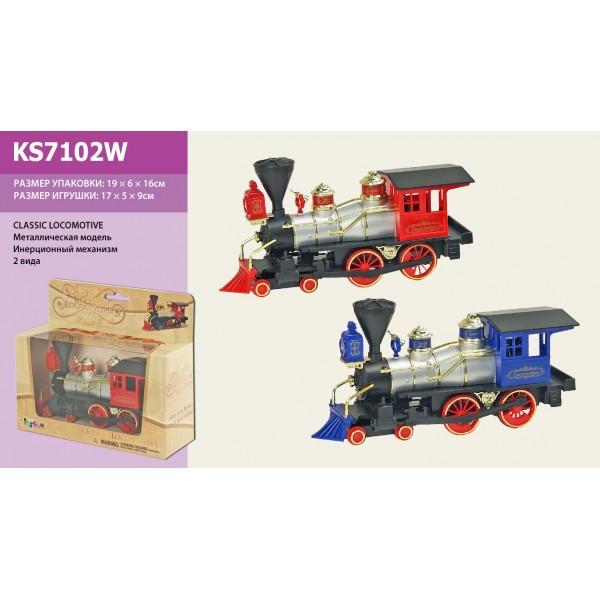 Модель паровоз KINSMART Classic Locomotive