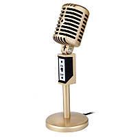 Мини 3,5 мм стерео запись рабочего Sing Sing Chat Караоке микрофон для ноутбуков компьютера