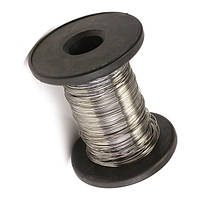 304 из нержавеющей стальной проволоки длиной 30 м Диаметр проволоки яркий одиночный жесткий провод 0.2/0.3/0.4/0.5/0.6мм