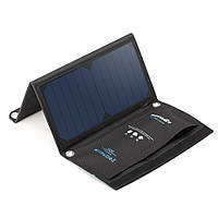 BlitzWolf® 15W 2A Складная портативная Dual Usb Sun Power Солнечная Зарядное устройство для Cell Panel с Power3S