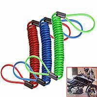 Сигнализация диска замок весной безопасности напоминание кабель мотоцикл мотоцикл скутер