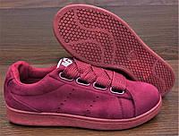 Марсаловые, бордовые женские кроссовки Navigator