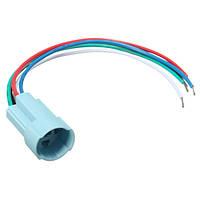 Штепсельная вилка для 16-миллиметрового 5-контактного металлического кнопочного переключателя Разъем для подключения к разъему
