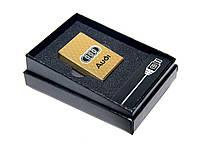 Электроимпульсная USB зажигалка с аккумлятором Audi
