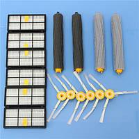 16 штук Аксессуары для пылесосов Набор Фильтры и Кисти для iRobot Roomba 800 900 Series