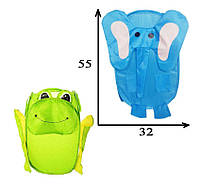 Корзина для игрушек M 2506 в виде животного (2 вида) Royaltoys
