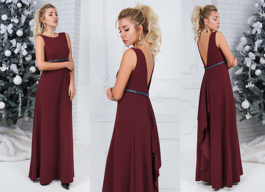 de3fe6c925b Женское длинное вечернее платье 316